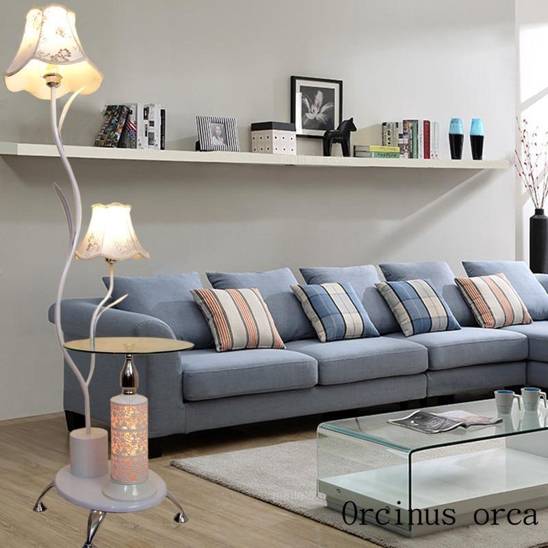 LED table lamp floor lamp lamp bedside bedroom living room|Floor Lamps| |  - title=