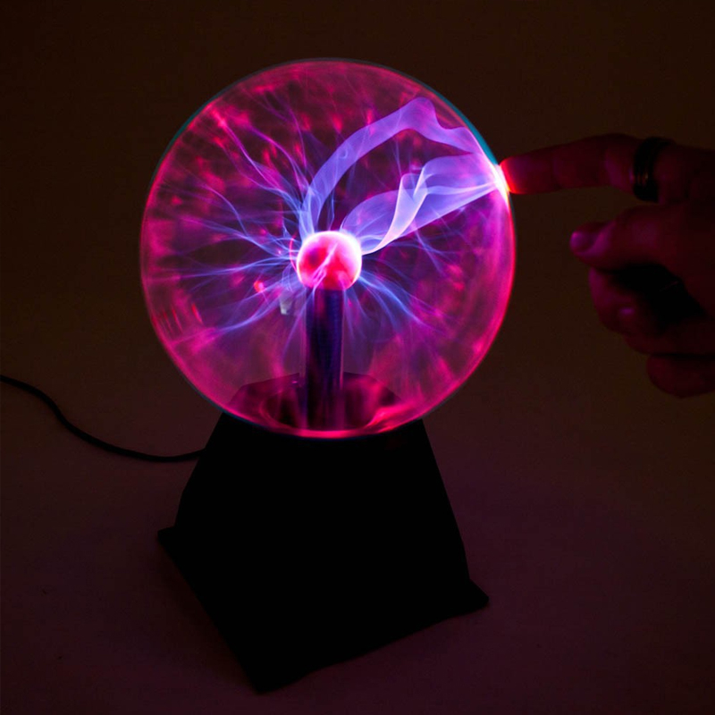 New Novelty Light Supernatural Photoelectric Light-emitting Luminous Magic Plasma Static Touch Magic Ball Electronic Magic Ball