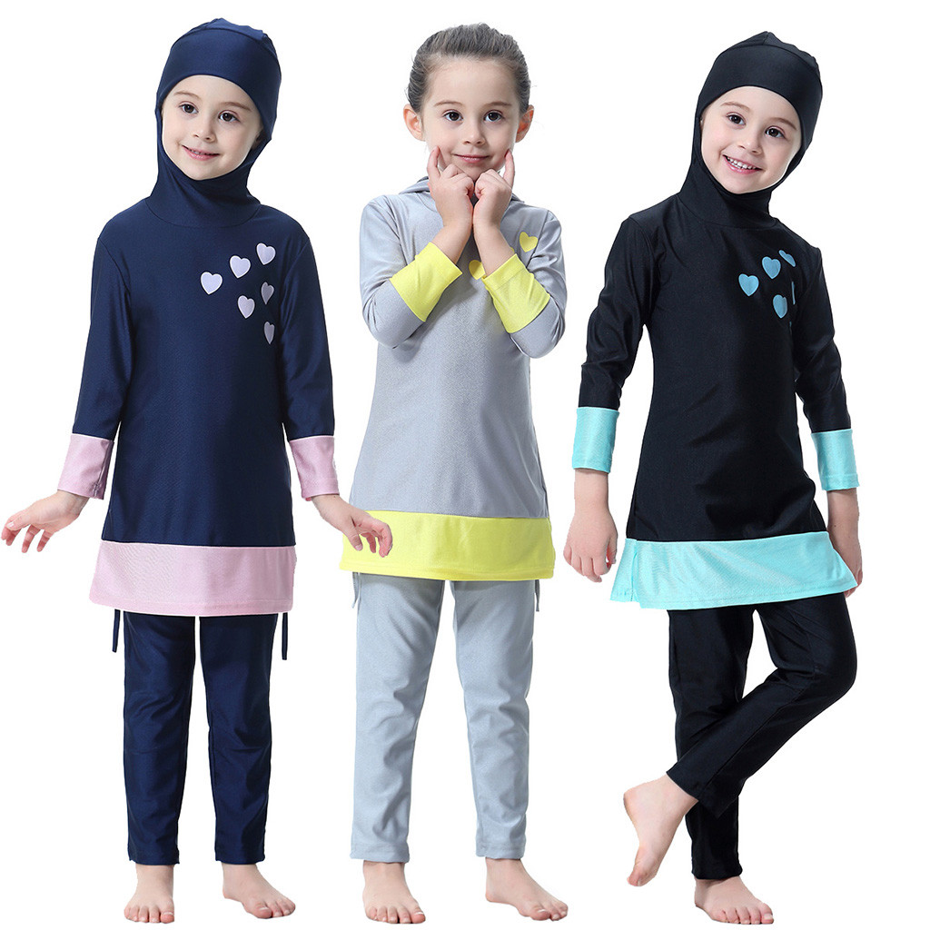 Kids Outfit Pants Long-Sleeve Toddler Girl Cildren Fashion Summer Solid for 2pcs 2pcs