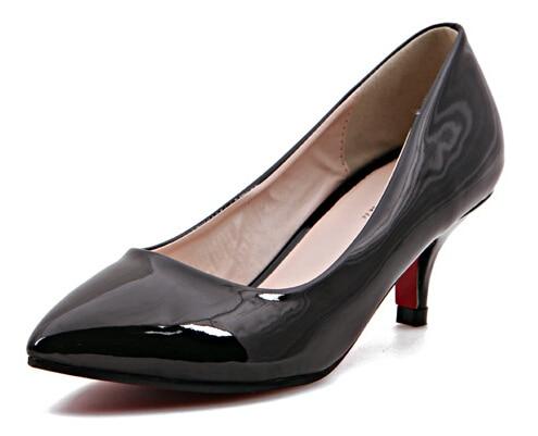 Aliexpress.com : Buy 2 inch heels pointed toe high heel red sole ...