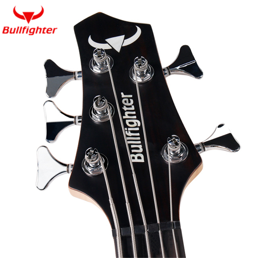 Torero DB-4 5 Performance guitare basse électrique 4 5 cordes micros actifs guitare basse métal Musicman guitare basse métal - 4