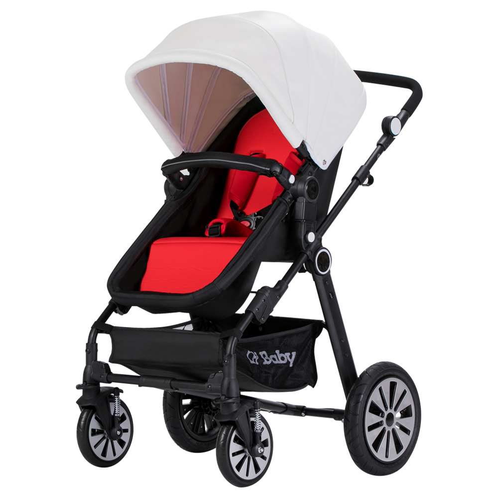 Babyfond Baby stroller High Landscape Children's Trolley Light folding umbrella carts