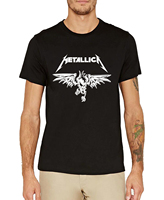 2016 Classic Heavy Metal Rock Metallica T Shirt Men Cotton Short Sleeve Tees Fashion Summer Style