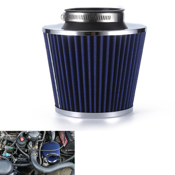 R-EP Car Air Filter 2.5/2.75/3inch for Universal Cold Air Intake High Flow 65mm 70mm 76mm Performance Breather Filters universal car air filter 76mm 3in cone shaped high flow cold air intake mesh filter black mushroom head motorbike cleaner new