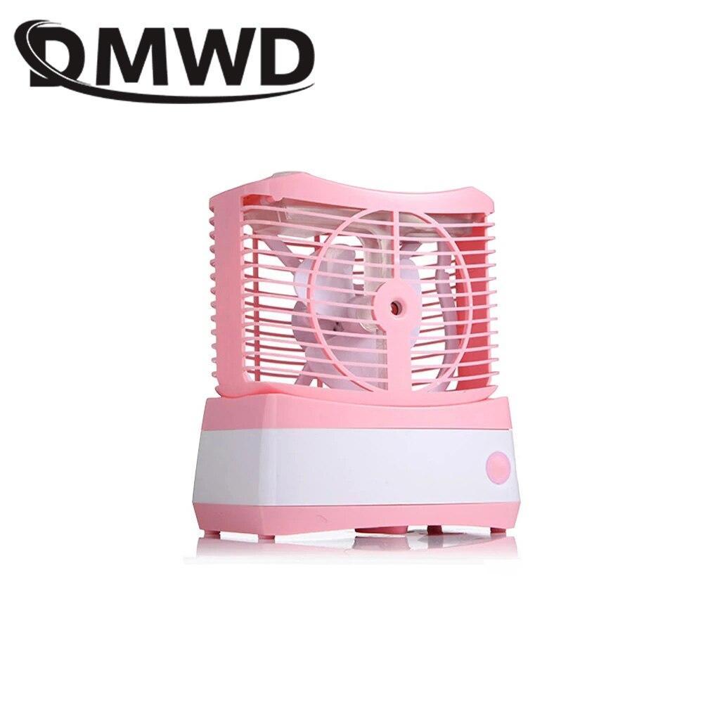 Dwmd Desktop Mini Schönheit Wasser Kühlung Spray Nebel Fan Usb Aufladbare Kühler Luftbefeuchter Nebel Kälte Klimaanlage Fans Volumen Groß Haushaltsgeräte