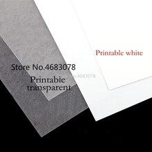 10 шт. A4 струйная печать термоусадочная пленка пластиковый лист DIY креативное украшение для печати термоусадочные пленки 0,3 мм толщина двусторонняя pri