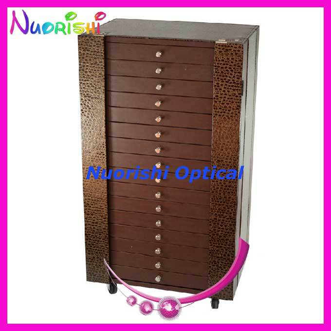 D106-2 glasses sample cabinet   spectacle presentation cabinet sunglass display cabinet   5 styles for options