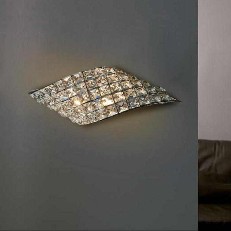 Living room Large Clear crystal wall fixtures sconce for sitting room Modern G4 led Wall Lamp entrance hallway picture Lighting цена