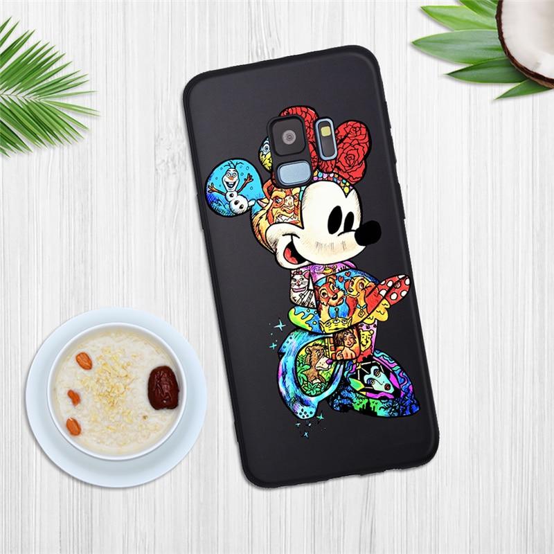 Cartoon Tattoo Marvel Joker Stitch For Samsung Galaxy S6 S7 Edge S8 S9 S10 S10e Plus Lite Note 8 9 10 Phone Case Coque Groot