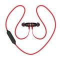 BX335 PK QY12 Bluetooth 4.1 Гарнитура Магнитный Адсорбция Смарт Переключатель Наушники Беспроводные Спорт в Ухо Наушники Стерео Наушники