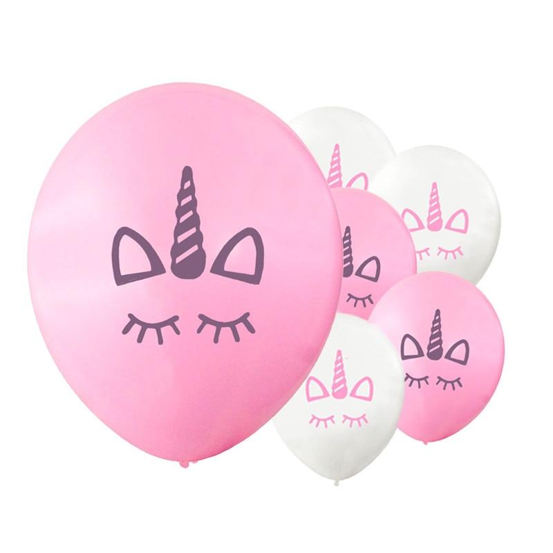 10pcs / 20pcs Μπαλόνια γενέθλια του Unicorn για - Προϊόντα για τις διακοπές και τα κόμματα - Φωτογραφία 1