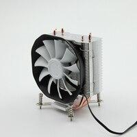 SOPLAY CPU Cooler 3 Heatpipes 4pin 115mm Fan Aluminum Heatsink For LGA 1150 1155 1156 FM2