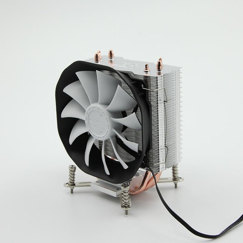 SOPLAY CPU Cooler 3 heatpipes  4pin 115mm Fan Aluminum Heatsink for LGA 1150/1155/1156/FM2/FM1/AM4/AM3+/AM2/940/939/754 thermalright le grand macho rt computer coolers amd intel cpu heatsink radiatorlga 775 2011 1366 am3 am4 fm2 fm1 coolers fan
