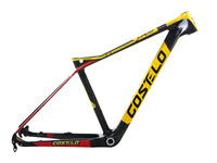 2016 COSTELO Jumper 27 5 650B Mtb Mountain Bike Bicycle Carbon Frame Headset Clamp Bici Telai