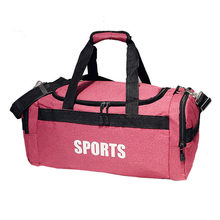 Men Wemen Sports Bag Pink Gym Workout Bag Yoga Basketball Bag Fitness Large  Capacity Travel Bags-in Gym Bags from Sports   Entertainment on  Aliexpress.com ... fba15809a8180