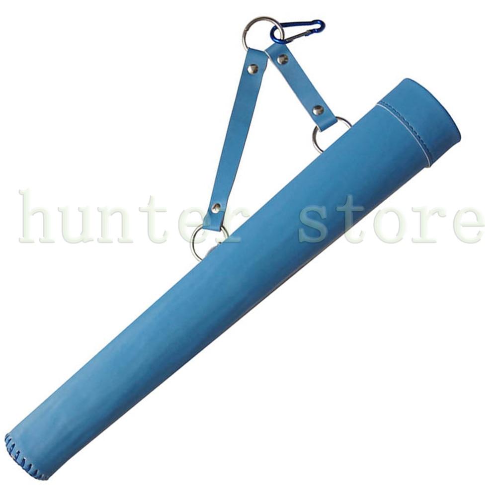 Plastic Arrow Hip Quiver Holding 20pcs Fiberglass Arrow wtih Single Belt Clip for Both Hands Hunter Sky Blue Color holding hands