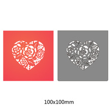 flower heart Metal Cutting Dies for DIY Scrapbooking Embossing Stencil Paper Cards album Crafts Diecuts New design