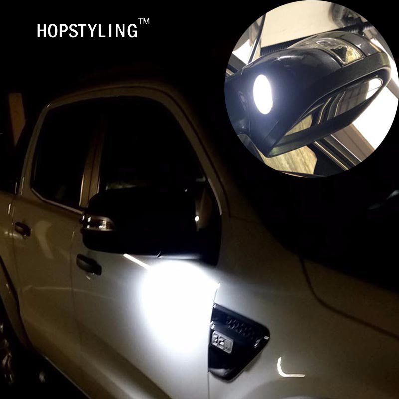 2x F 150 Led Under Mirror Light For Ford Taurus Mondeo Led