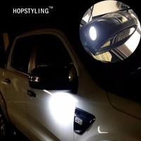 2x F-150 LED Onder Spiegel Licht Voor Ford Taurus Mondeo led puddle light knipperlicht Auto-styling auto verlichting lampen