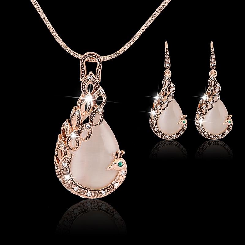 Fashion Rose Gold Austria Crystal Women Super Flash Rhinestone