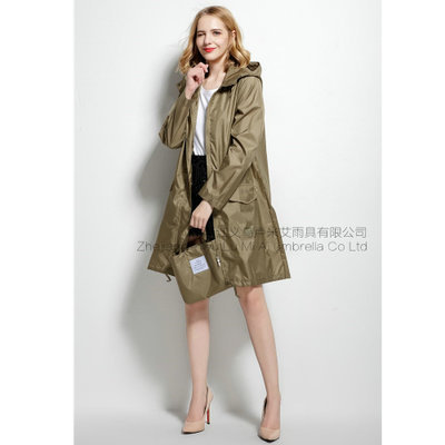 4bce9e85d Long Thin Raincoat Women Waterproof hood Light Rain Coat Ponchos Jackets  cloak Female Chubasqueros Impermeables Mujer