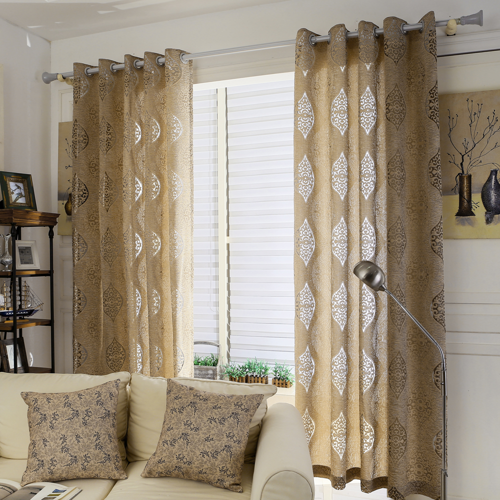 Blackout Curtains For Living Room Hotel European Simple: Popular Brown Bedroom Curtains-Buy Cheap Brown Bedroom