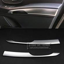 Ди ABS автомобилей Интимные аксессуары для Mercedes-Benz Vito 2016 Межкомнатная дверь подлокотник Панель отделкой полосы хром пластины подлокотник наклейки Чехлы для мангала