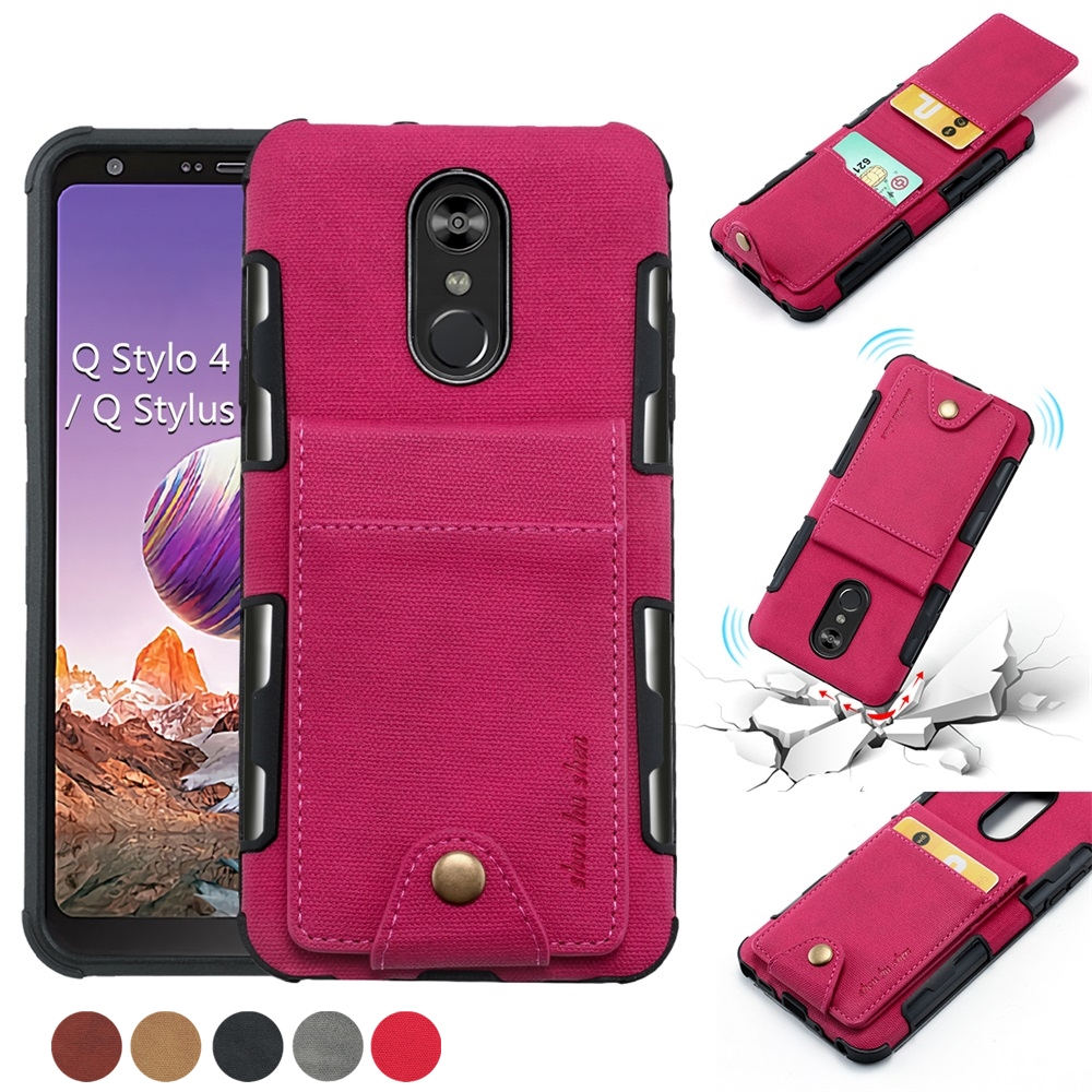 for LG Stylo 5//Stylus 5 Embossing Wallet Phone Case PU Leather Purse Flip Standing Protective Cover with ID Credit Card Slot