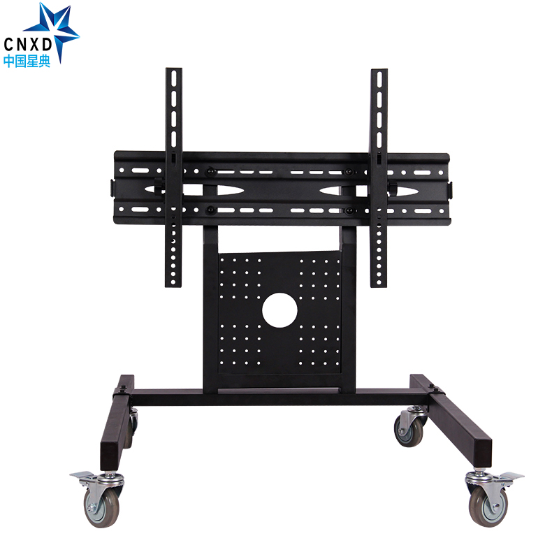buy rolling tv stand mobile tv cart for 32 65 inch plasma screen led lcd curved tvu0027s with mount for universal with wheels from reliable