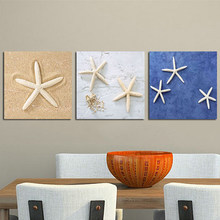 No Frame Watercolor Starfish Poster Print Abstract Modern Pictures Canvas Paintings For Living Room Home Decor Wall Artwork(China)