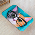 Popular Sale Cute Animal Cat Floor Mat Bathroom Kitchen Carpet Bedroom Living Room Antiskid Doormats Tapete Rug 40*60CM