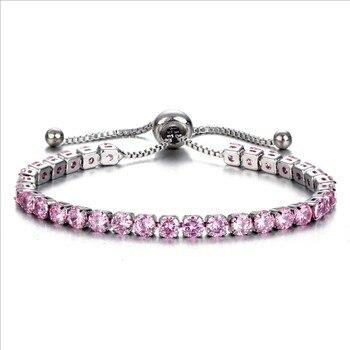 Bracelet Amethyste Or
