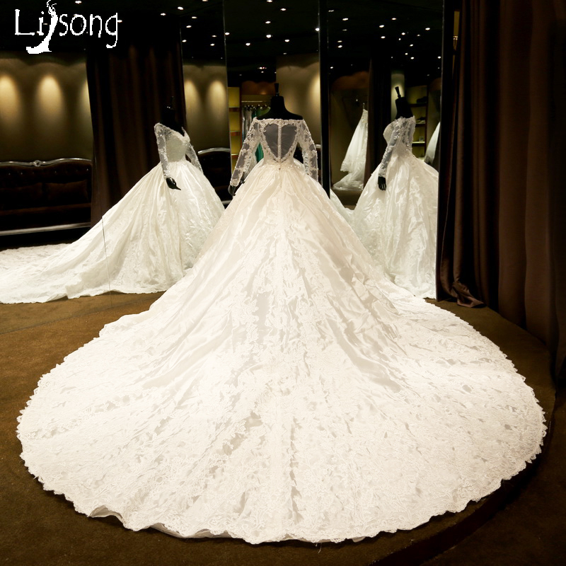 White Wedding Gown Styles: White Unique Wedding Dress Ball Gowns Royal Style Middle