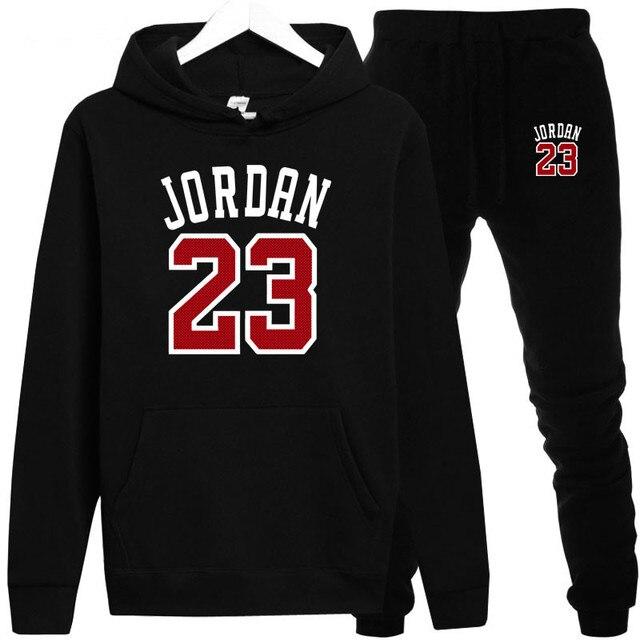 New 2018 Brand New Fashion JORDAN 23 Men Sportswear Print Men Hoodies Pullover Hip Hop Mens tracksuit Sweatshirts Clothing
