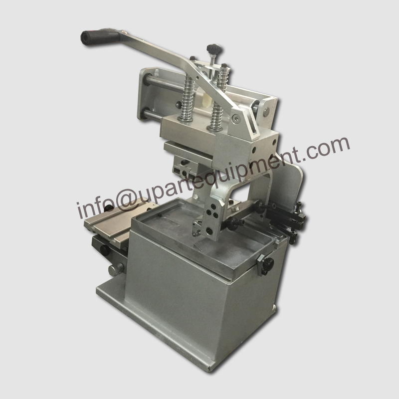 cheap price open ink tray manual pad printer, pad prnting machine by hand, pad print machine with low price 2017 low price new machine free shipping singapore by malaysia 720mm