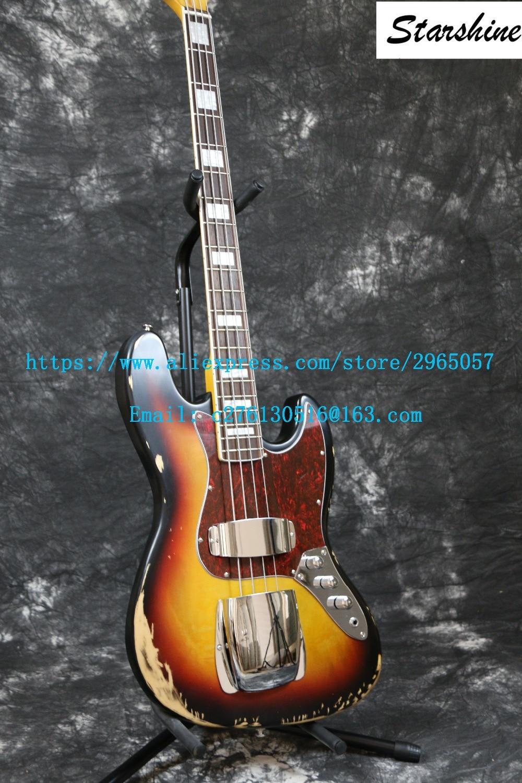 Instock Starshine Relic 1961 FD JAZZ 4 լարային - Երաժշտական գործիքներ - Լուսանկար 5