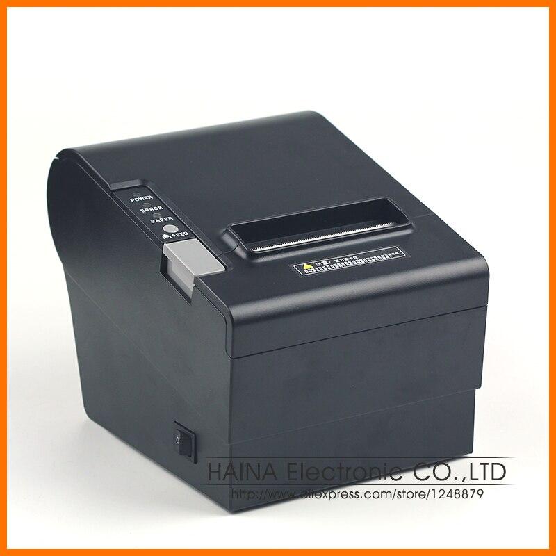 Imprimante thermique de reçu de l'interface 80 Mm de série/Ethernet/USB, impression automatique de LOGO compatible d'epson d'imprimante thermique de 250 mm/s