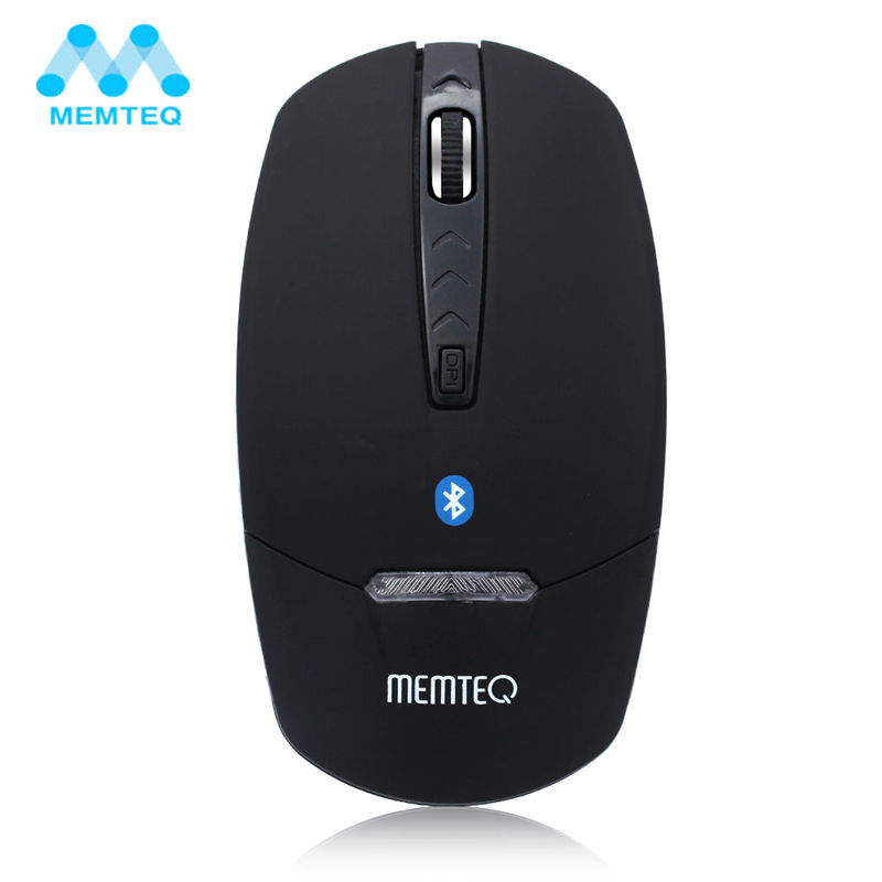 MEMTEQ Bluetooth Mouse Wireless M3s 4D 1600DPI Bluetooth V3.0 Wireless Mouse Computer Mice Blue LED Gold/ Silver/ Black