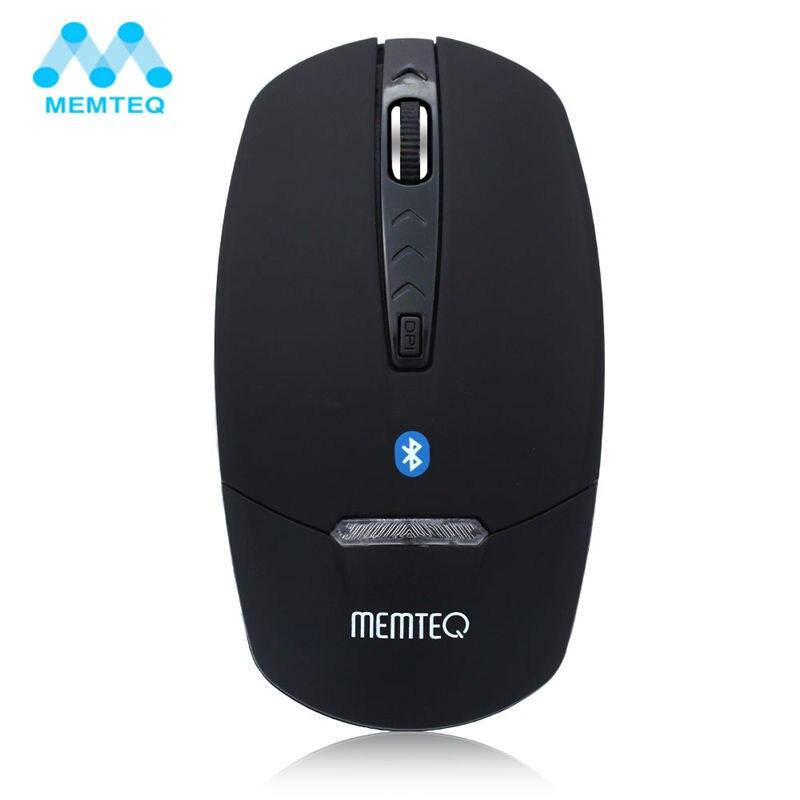MEMTEQ Bluetooth Souris Sans Fil M3s 4D 1600 DPI Bluetooth V3.0 Sans Fil Souris D'ordinateur Souris Bleu LED Or/Argent/noir