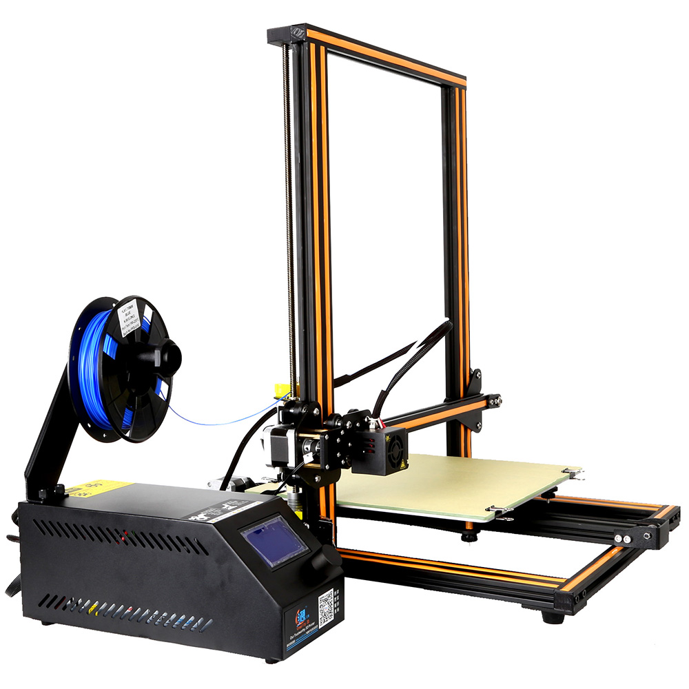 цена на Creality 3d Cr-10 300* 300*400mm Large Size Desktop 3D DIY Printer LCD Screen Display with SD Card Off-line Printing Function