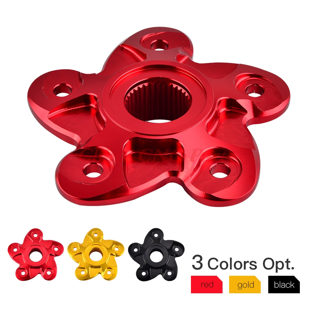 NICECNC Rear Sprocket Hub Carrier Cover For Ducati 748 848 996 916 998 Streetfight Hypermotard Monster 821 Multistrada 1000 S2R billet rear hub carriers for losi 5ive t
