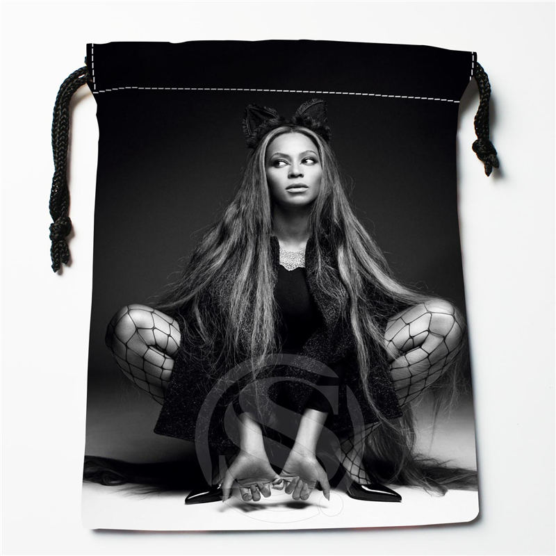 U-9 New Beyonce 003 Custom Logo Printed  Receive Bag  Bag Compression Type Drawstring Bags Size 18X22cm U801!!i9