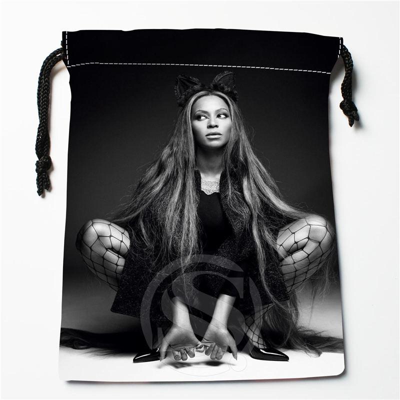 U-9 New Beyonce 003 Custom Logo Printed  Receive Bag  Bag Compression Type Drawstring Bags Size 18X22cm U801!!i9