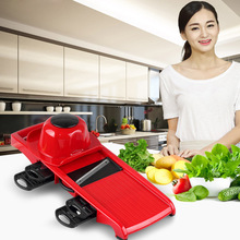 Vegetable Fruit Slicers & Cutter With Adjustable Stainless Steel Blades
