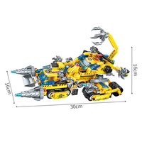 619Pcs 8In1 Set Ninjagoe Vehicle Robot Chariot Model Building Blocks Compatible Legoings Technic Educational DIY Toys For Kids