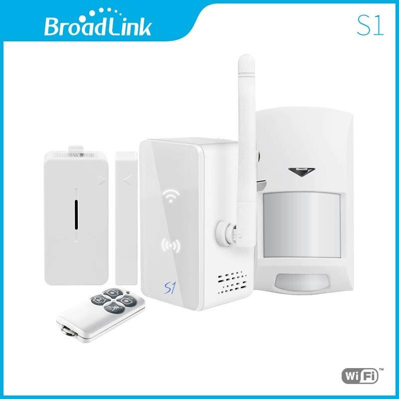 Kit d'alarme et de sécurité SmartOne Broadlink S1/S1C pour système d'alarme domestique intelligent télécommande IOS Android