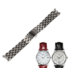 615e80051e73 Goledula watchbands para MIDO M007.207A M007.228 BARONCELLI banda sólida de  acero inoxidable hombre