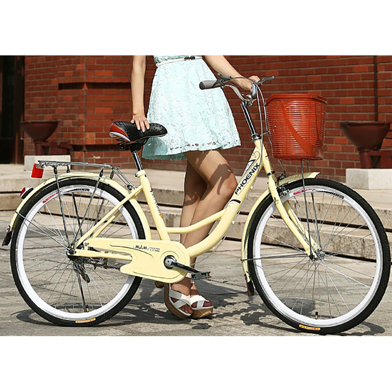 High Carbon Steel 26 Inch City Leisure Cycling Manufa Cturer Utility Urban Leisure Bicycle