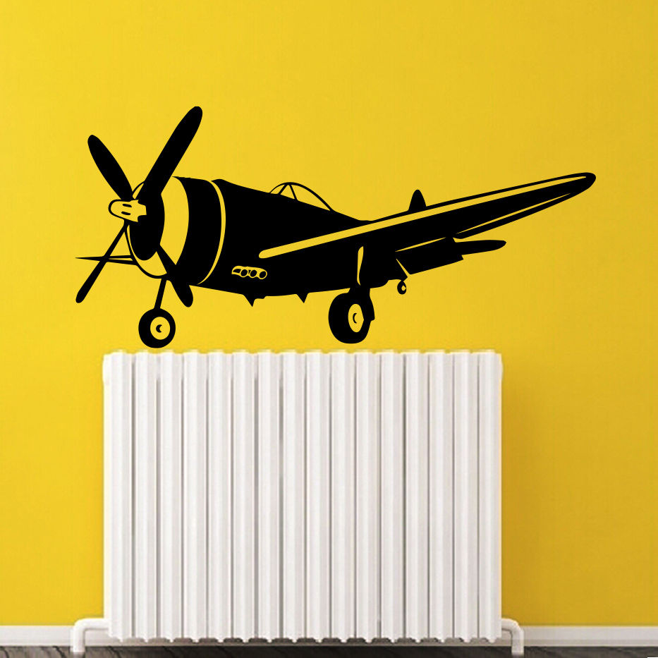 Wall Decals Helicopter Flight Air Art Living Room Vinyl Sticker ...