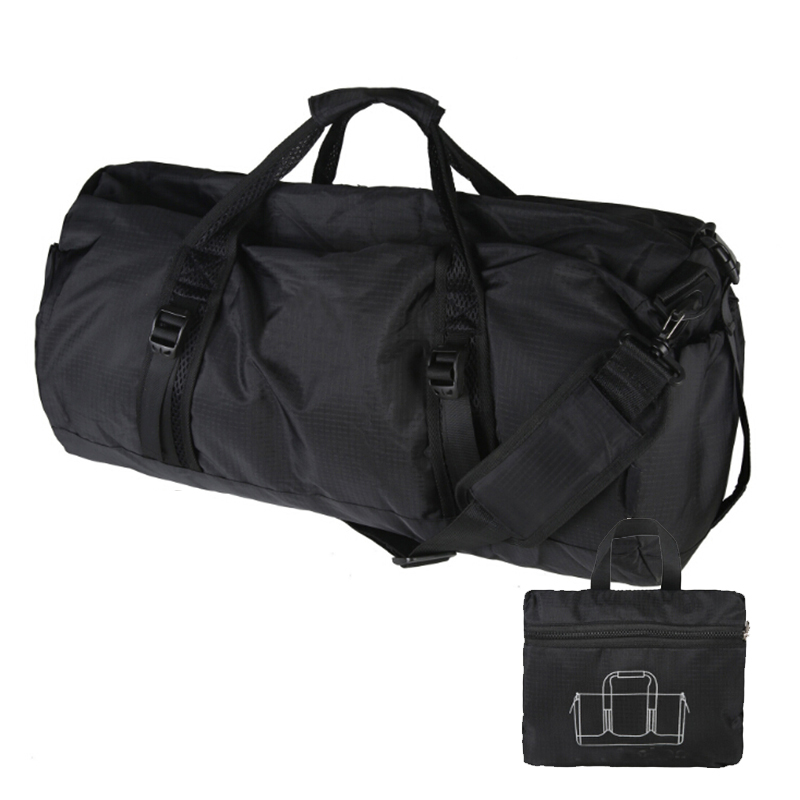 Foldable High Quality Nylon Waterproof Travel Bag Large Capacity Luggage Bags Folding Travel Tote Bag X175